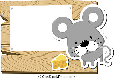 baby mousy signboard