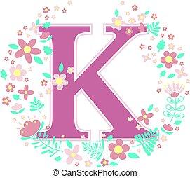 baby name initial k