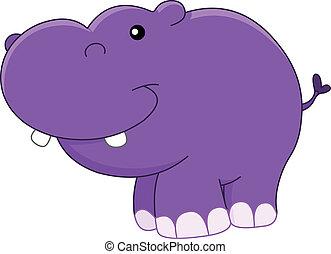 baby, nijlpaard
