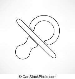 baby pacifier symbol