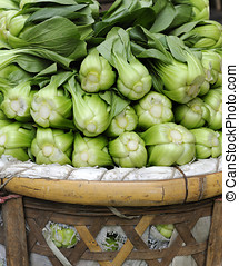Baby Pak Choy (Chinese Cabbage)