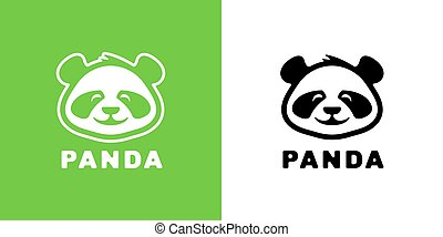 Baby panda logo icon