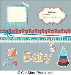 baby, plakboek, communie