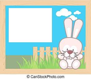 baby rabbit frame