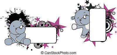 baby rhino copyspace 6