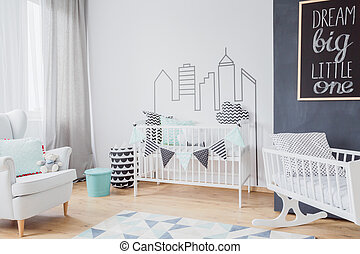 Baby room in the city centre