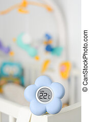 Baby room temperature monitor