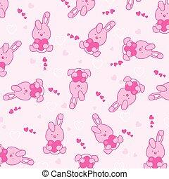 baby, rosafarbener hintergrund