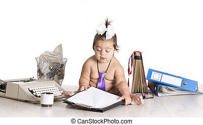 baby, schrijf