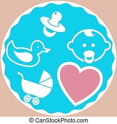 Baby Set - Illustration