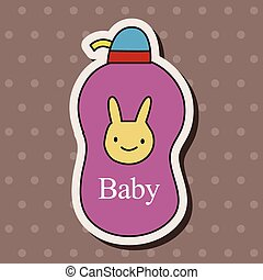 baby shampoo theme elements