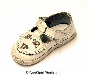 Baby shoe - Isolated