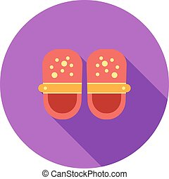 Baby Shoes - Baby, shoes, feet icon vector image. Can also ...