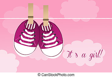 Baby shoes - Baby shower