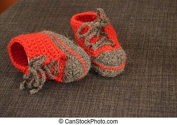 Baby shoes - Babyschuhe zur Geburt