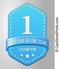baby shower boy symbol