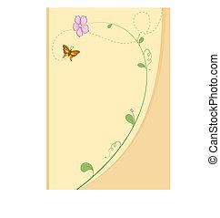 Baby Shower Card Design Vector Art
