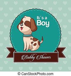 baby shower card invitation its a boy