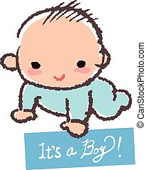Baby shower concept- it's a boy!