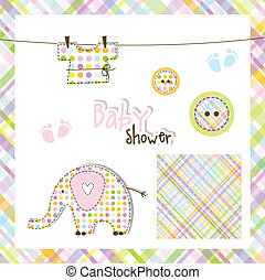 Baby shower elements