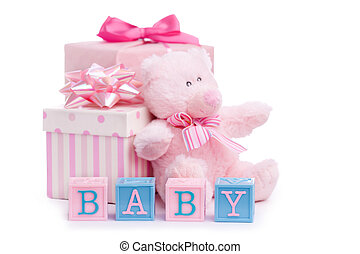 Baby shower gifts for a little girl