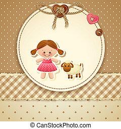 Baby Shower Invitation - Vector illustration - Baby Shower...
