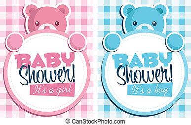 Baby shower invitations baby feet invitation cards baby shower invitations filmwisefo