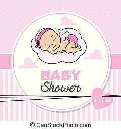 baby shower pink