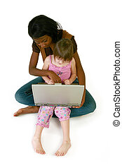 Baby Sitter - Attractive 20 year old African American woman...
