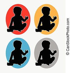 Baby sitting logo