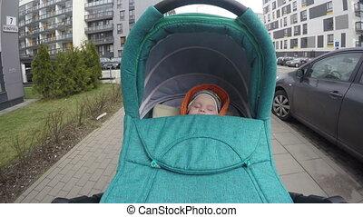 baby sleep stroller