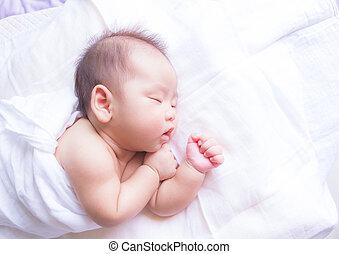 baby, sov
