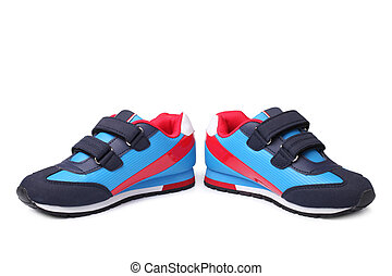 Baby sport shoes pair