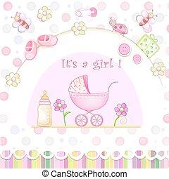 baby stortbad, toys., kaart
