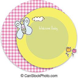 baby stortbad, uitnodiging