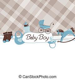 baby stortbad, vector