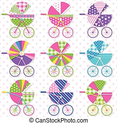 baby stroller collection pattern