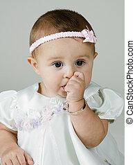 Baby Sucking on Thumb
