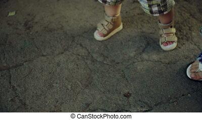 Baby Teaching Steps