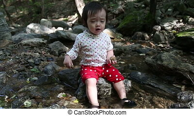 Baby Toddler 2 At the Creek