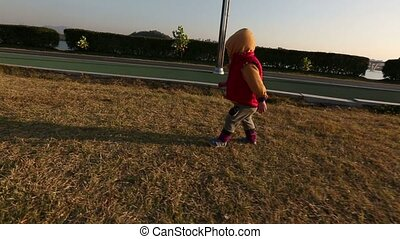 Baby Toddler At The Park 5 Uncles S - 5) Glidecam video shot...