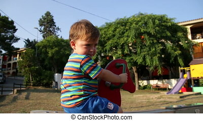 Baby Toddler Park Spring Bouncer 2