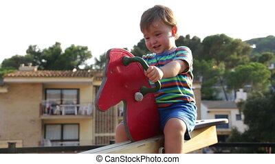 Baby Toddler Park Spring Bouncer 3
