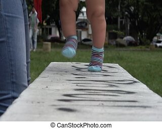 Baby Walking, First Steps