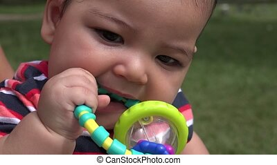 Baby With Toys, Infant Toys