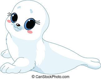 baby, zeehondje