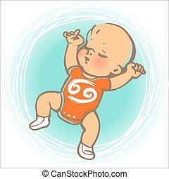 Baby zodiac Cancer