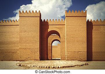 Babylon great walls