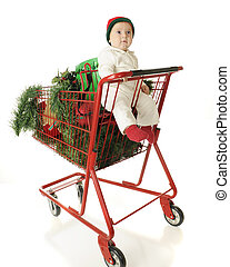 Baby's Basket Full of Christmas