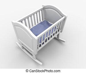 Baby\'s crib